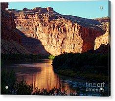 Source Of Colorado River Acrylic Print by Eva Kato