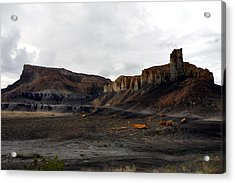 Source Of The Mud Flood Acrylic Print