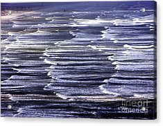 South African Indian Ocean Waves Acrylic Print by Howard Koby