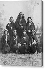South American Arancanos Tribe Acrylic Print