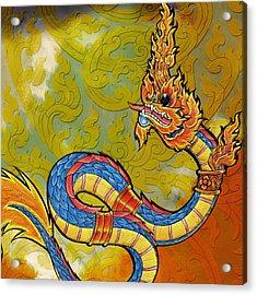 South Asian Symbolism  Acrylic Print