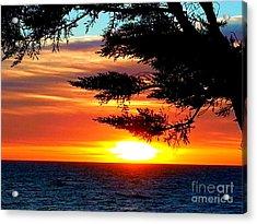 South Bay Sunset Acrylic Print
