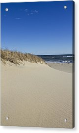 South Beach In The Winter  Acrylic Print by Eugene Bergeron
