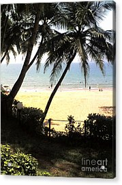 South Beach Acrylic Print