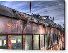 South Bend Railroad - Seen Better Days Acrylic Print