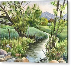South Boulder Creek Acrylic Print