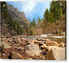 South Boulder Creek - Eldorado Canyon State Park Acrylic Print