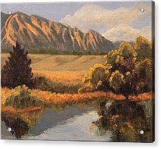 South Boulder Creek Acrylic Print