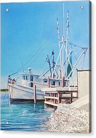 South Carolina Oysters Acrylic Print