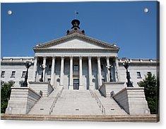 South Carolina State Capital Building Acrylic Print