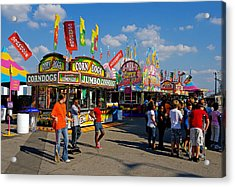 South Carolina State Fair Acrylic Print