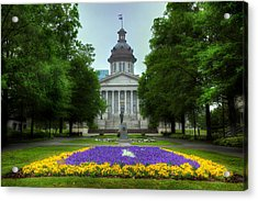 South Carolina State House Acrylic Print by Michael Eingle