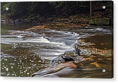 South Chagrin Reservation Creek Acrylic Print