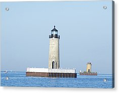 South Channel Lights Acrylic Print