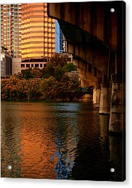 South Congress Bridge Acrylic Print