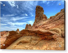 South Coyotte Buttes 8 Acrylic Print by Bob Christopher
