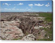 South Dakota Badlands Acrylic Print