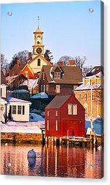 South End Boathouse Acrylic Print