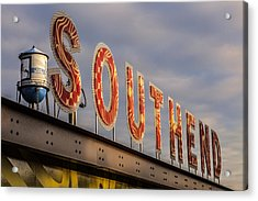 South End Acrylic Print by Chris Austin
