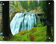 South Fork Falls  Acrylic Print by Jeff Swan
