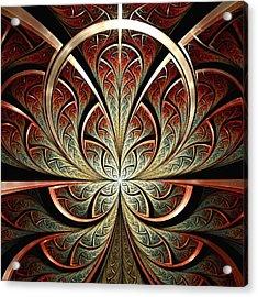South Gates Acrylic Print by Anastasiya Malakhova