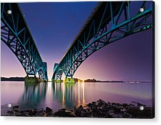 South Grand Island Bridge Acrylic Print