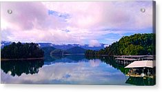 South Holston Lake Tn Acrylic Print