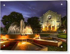 South Main Baptist Church Acrylic Print by Tim Stanley