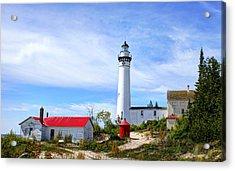 South Manitou Island Acrylic Print by Bruce Wilbur
