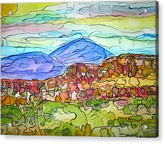 South Mesa Freestyle Acrylic Print