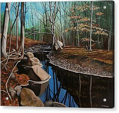 South Mountain Stream Acrylic Print
