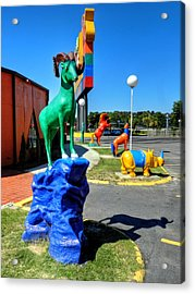 South Of The Border 009 Acrylic Print by Lance Vaughn