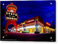 South Of The Border Acrylic Print