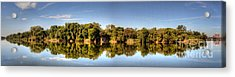 Acrylic Print featuring the digital art South Of The James by Kelvin Booker