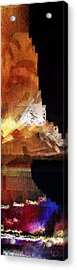 South Pacific - Glitschscape Acrylic Print