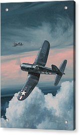 South Pacific Hot Rods Acrylic Print