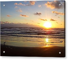 South Padre Island Sunrise Acrylic Print
