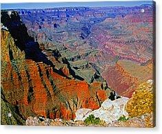 South Rim Grand Canyon N.p. Acrylic Print
