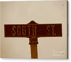 South Street Acrylic Print by Michael Krek