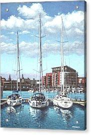 Southampton Ocean Village Marina Acrylic Print