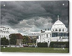 Southampton Royal Pier Hampshire Acrylic Print by Terri Waters