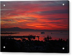 Southern California Sunrise Acrylic Print