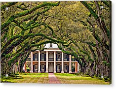 Southern Class Oil Acrylic Print