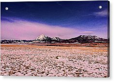 Acrylic Print featuring the photograph Southern Colorado Mountains by Ron Roberts