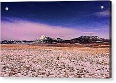 Southern Colorado Mountains Acrylic Print