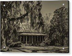 Southern Comfort Antique Acrylic Print by Debra and Dave Vanderlaan
