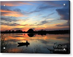 Southern Comfort Acrylic Print by Leslie Kirk