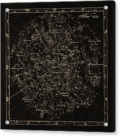 Southern Constellations, 1829 Acrylic Print by Science Photo Library