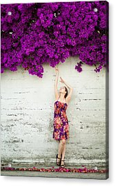 Southern Flowers Acrylic Print by Viacheslav Savitskiy