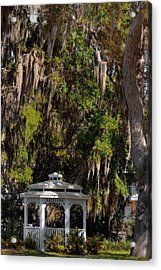 Southern Gothic In Mount Dora Florida Acrylic Print
